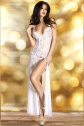 Chilirose Long Gown White