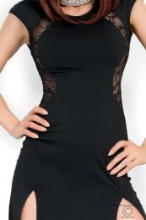 Chilirose Long Black Dress