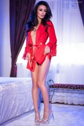Chilirose Exotic Negligee Red