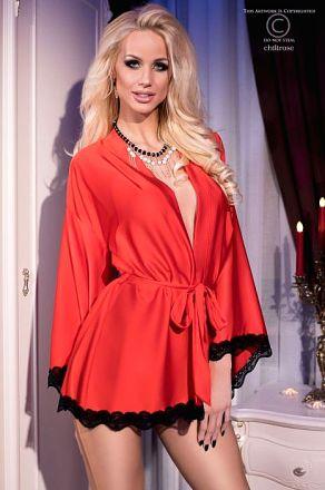 Chilirose Extravagant Robe Red