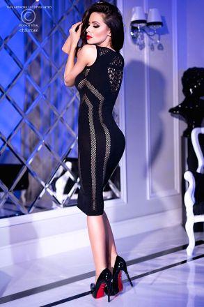 Chilirose Black Dress