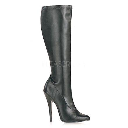 Pleaser Single Sole Boots Knee High Domina 2000 Mat