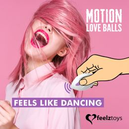 Feelztoys - Remote Controlled Motion Love Balls Twisty