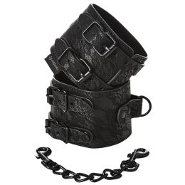 Sportsheets - Sincerely Lace Double Strap Handcuffs