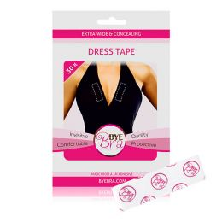 Bye Bra - Dress Tape Clear 30x