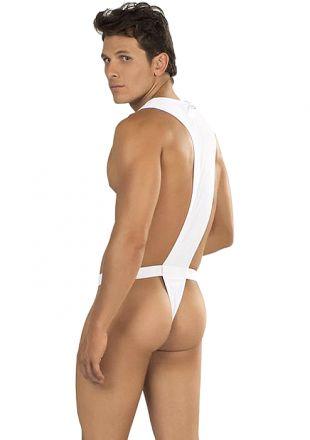 PPU Men's Underwear - Bodystring White