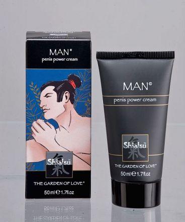 Shiatsu - Man Power Cream 50ml