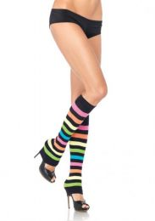 Leg Avenue Neon Rainbow Leg Warmers