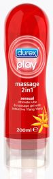 Durex - Play Sensual Massage  2σε1 Ylang Ylang