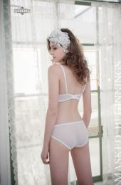 AnnaMu 2pcs Set White