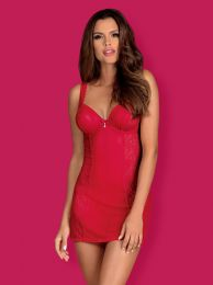 Obsessive Rougebelle chemise & thong red