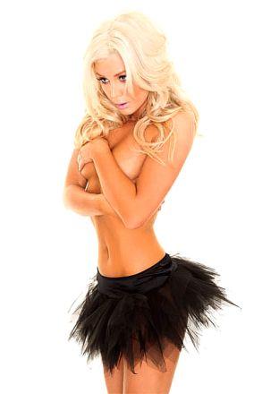 Black Net Skirt