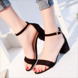 Summer Sandal Black
