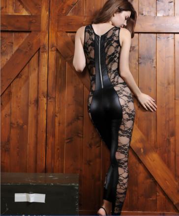 Sexy Lace Black Jumpsuit