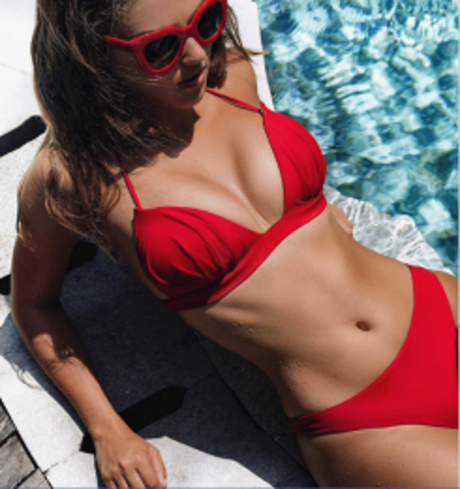 Brazilian Bikini Red