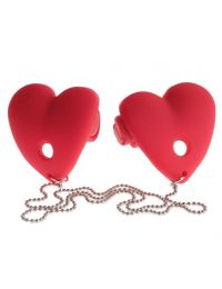 Fetish Fantasy Series - Vibrating Heart Pasties