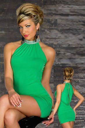 Sexy Stretchy Clubwear Green