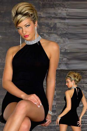 Sexy Stretchy Clubwear Black
